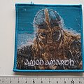 Amon Amarth - Patch - Amon Amarth patch a322 blue border