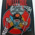 Mötley Crüe - Patch - Motley Crue  2018 patch m314  new  size  8 x 10 cm