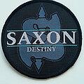 """Saxon - Patch - Saxon  official 1990 """"Destiny"""" patch 3  special offer"""