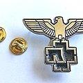 Rammstein pin badge n4