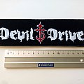 DevilDriver - Patch - DevilDriver strip patch d171  size 5.5 x 20 cm/ 2.5 x8 inch