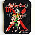Mötley Crüe - Patch - Motley Crue Dr. Feelgood official 1989 patch m21-- 8x10.5 cm
