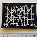 Napalm Death - Patch - Napalm Death  patch  800 used