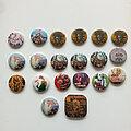 Iron Maiden - Pin / Badge -  Iron Maiden  various old buttons