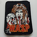 W.A.S.P. - Patch - W.A.S.P.   very nice 80's  patch w139 Blackie with skull. wasp