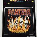 Pantera - Other Collectable - Pantera official 1995 sticker 12 x 13 cm