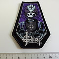 Ghost small coffin patch g211 silver print