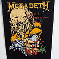 Megadeth peace sells...  official 1987 vintage  backpatch  bp524