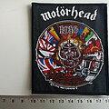 Motörhead - Patch - Motorhead official 2010 1916 patch 37 new
