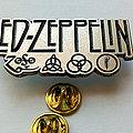 Led Zeppelin  pin badge n5 Pin / Badge