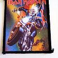 Iron Maiden - Patch -  Iron Maiden original 1989 Maiden England patch 45- 8x9.5 cm