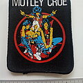 Mötley Crüe - Patch - Motley Crue  80's  patch m412 pentagram+ band