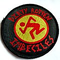 D.R.I. dirty rotten imbeciles patch d154 ----9.5cm    1989