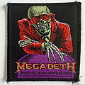 Megadeth peace sells ...vintage 1986 patch81