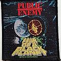 Public Enemy - Patch - Public Enemy  original 1990 Fear of the planet patch p159