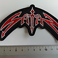 Satan - Patch - Satan shaped patch s214