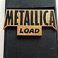 Metallica - Pin / Badge - Metallica shaped Load pin badge speld 1.5 x 3 cm no 316