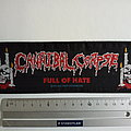 Cannibal Corpse 1993 vintage strip full of hate patch c219 new  6x20.5 cm