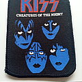 Kiss - Patch -  KISS  1982 creatures of the night patch 51 ---7.5x10 cm