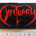 Obituary - Patch - Obituary patch  814 used