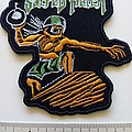 Sacred Reich shaped patch s316