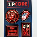 The Rolling Stones - Other Collectable - The Rolling Stones zip code official 2015 - 4 x sticker pack