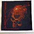 Sepultura - Patch - Sepultura -  1990 Beneath the Remains patch 168-- 10x10 cm