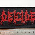 Deicide - Patch - Deicide patch d262