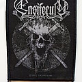 Ensiferum - Patch - Ensiferum skull patch e93