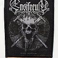 Ensiferum skull patch e93