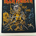 Iron Maiden - Patch - Iron Maiden  2011 live after death patch   182  10 X 11 cm