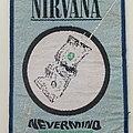 Nirvana - Patch - Nirvana nevermind patch used692-- 8.5 x 11 cm