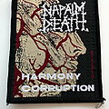 Napalm Death - Patch - Napalm Death   harmony corruption official 1991 patch n133