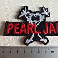 Pearl Jam - Patch - Pearl Jam shaped patch used550--- 7 x9.5 cm