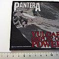 Pantera - Patch - Pantera vulgar display of power patch p151