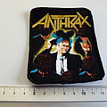 ANTHRAX  i'm the man 80's  patch a14    8x10 cm