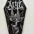 Attic - Patch - Attic  coffin Sanctimonious Patch white border patch used516