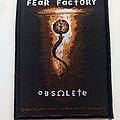 Fear Factory - Patch - Fear Factory obsolete patch f81-- 7.5 x 10