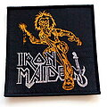 Iron Maiden - Patch - Iron Maiden  Killers patch 274 with gold and silver glitter print