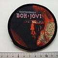 Bon Jovi - Patch - Bon Jovi  1986 7800 Farenheit patch 30 with glitter print