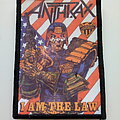 Anthrax - Patch - Anthrax  1987    i am the law   --  patch a354