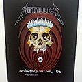 Metallica  in vertigo you will be  1989 backpatch bp400 patch