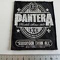 Pantera patch used369