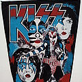 Kiss 80's backpatch bp327--- 31 x 23 x35 cm patch