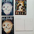 Def Leppard - Other Collectable - Def Leppard  old official postcards 10 x 15 cm  no2