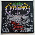 Obituary - Patch - Obituary the end complete official 1992 patch o53--- 10x10 cm