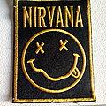 Nirvana - Patch - Nirvana  smiley patch