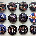 Megadeth - Pin / Badge -  various new buttons 3.1 cm   b62