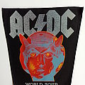 AC/DC  1993  world tour back patch bp333 backpatch 31X25X35 new