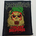 Sacred Reich - Patch - Sacred Reich violent solutions official 1990 patch s338